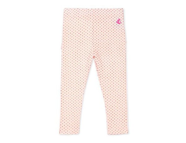Legging roze rose bolletjes
