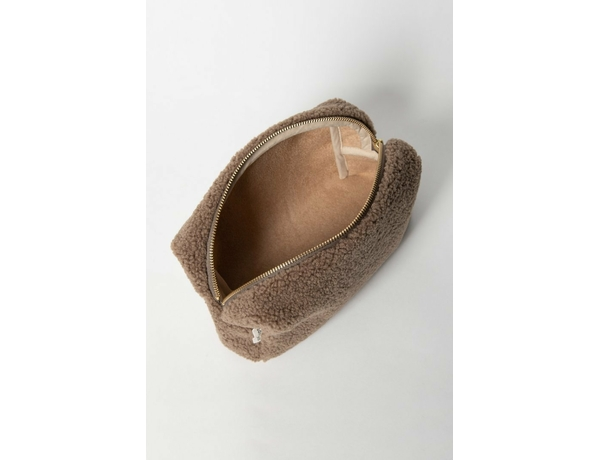 Pouch chunky brown