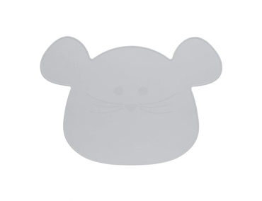 Placemat silicone grijs muis